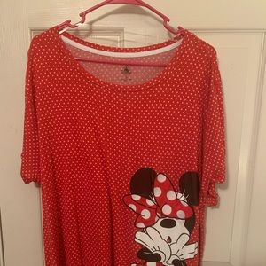 Red Minnie Mouse Polka Dot Shirt